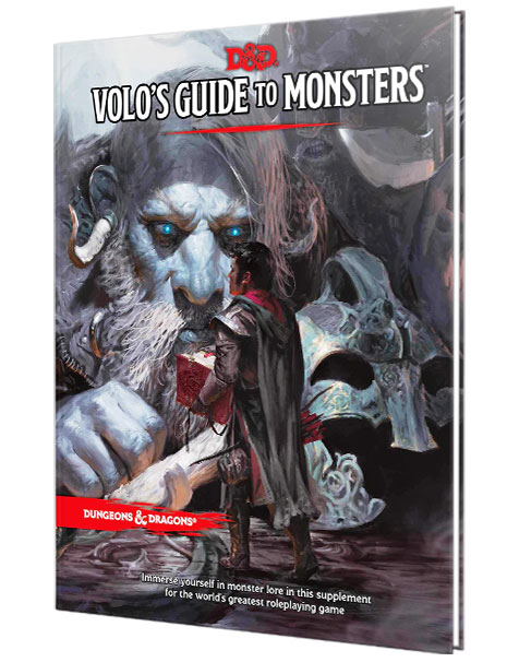 volos guide to monsters, dungeons and dragons, game store