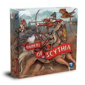 raiders of scythia game box