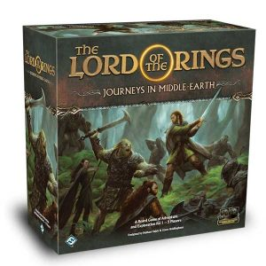 the lord of the rings: journeys in middle-earth box