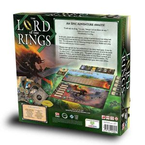 lord of the rings board game box back