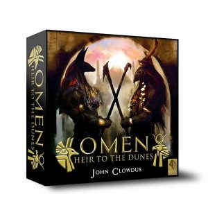 omen, heir to the dunes game box