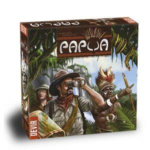 papua board game, box