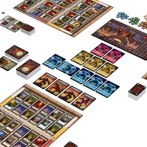 the masters trials game components