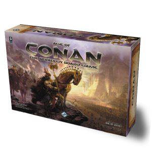 age of conan board game box