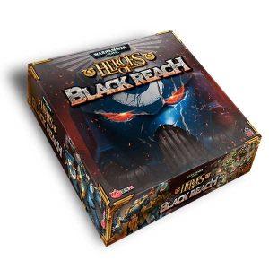 heros of blackreach board game box