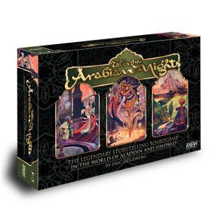 tales of the arabian nights board game box